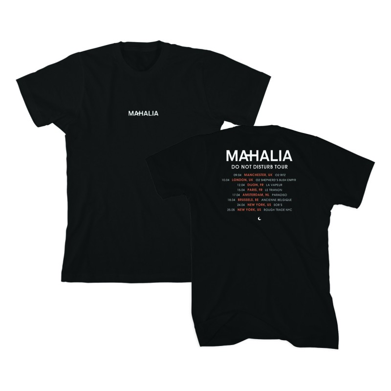 Do Not Disturb 2019 Tour T-shirt Black