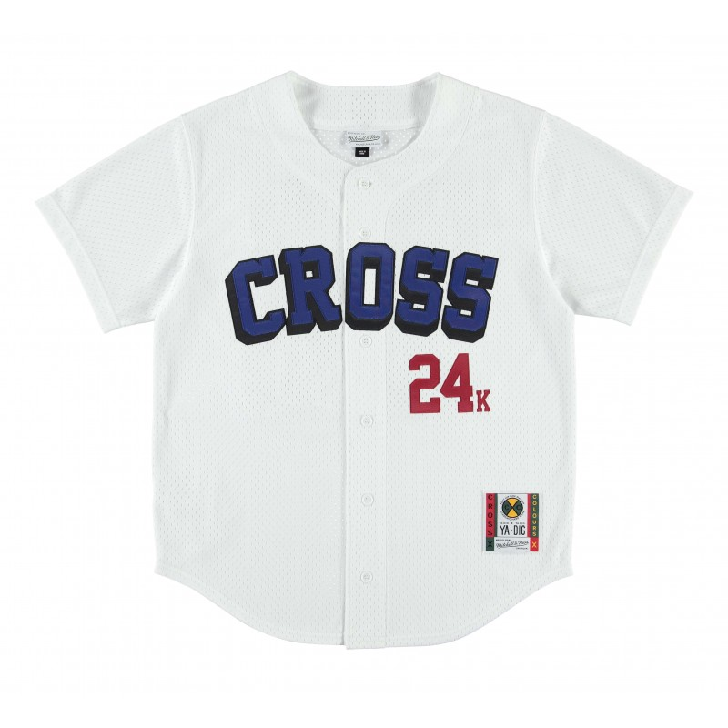 24K CxC Cross Baseball Jersey