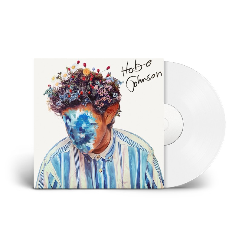 The Fall of Hobo Johnson Signed White Vinyl