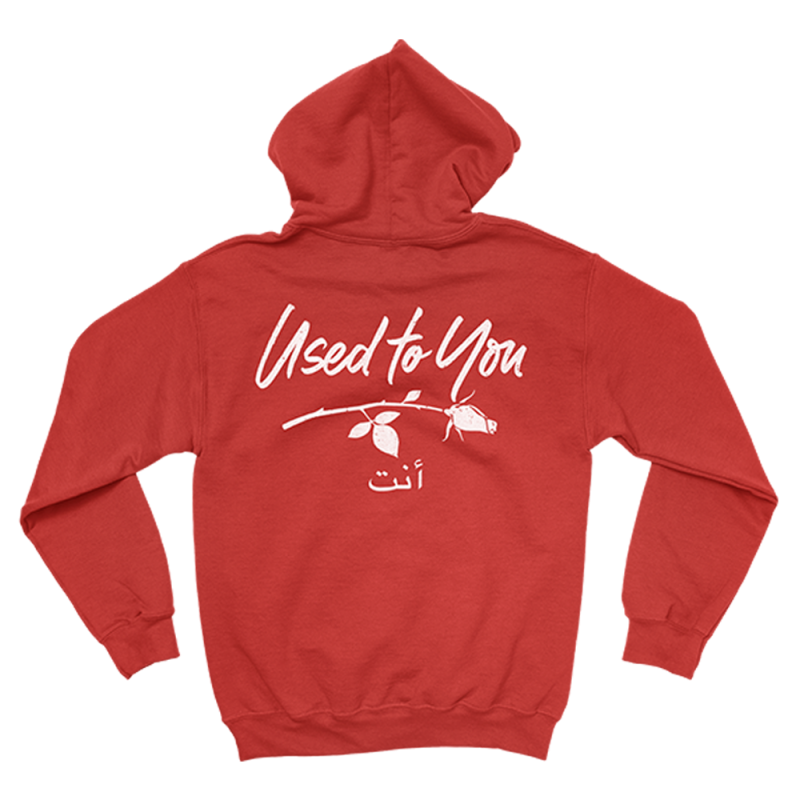 Used to You Red Hoodie