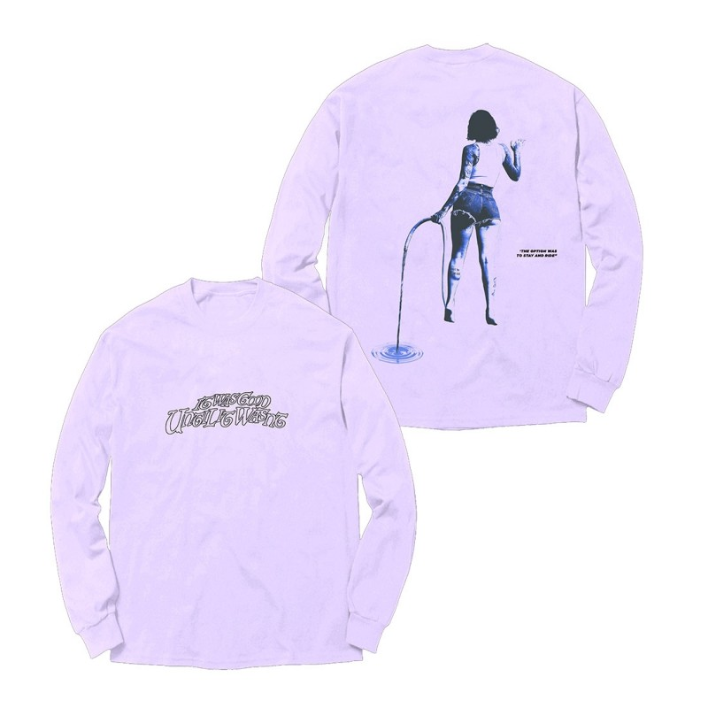 IWGUIW Album Cover (Lavender) Long Sleeve
