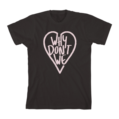 Why Don't We Marker Heart T-Shirt
