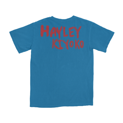 HK I'm Too Sensitive Blue T-Shirt
