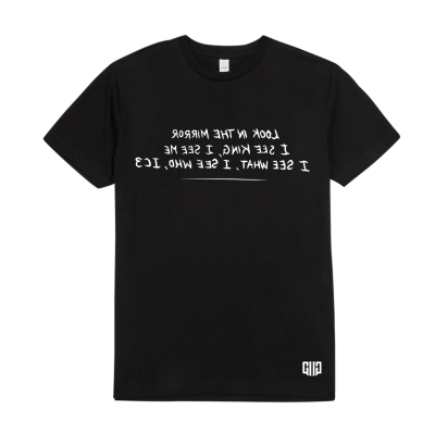 Limited Edition IC3 T-Shirt - Reversed Mirror Image Lyrics