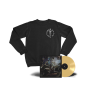 FOC Vinyl Crewneck Sweatshirt + FEET OF CLAY Vinyl LP