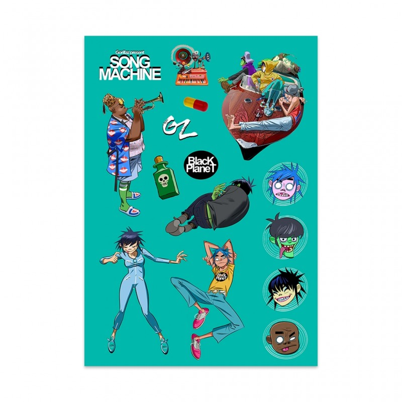 Song Machine Sticker Pack