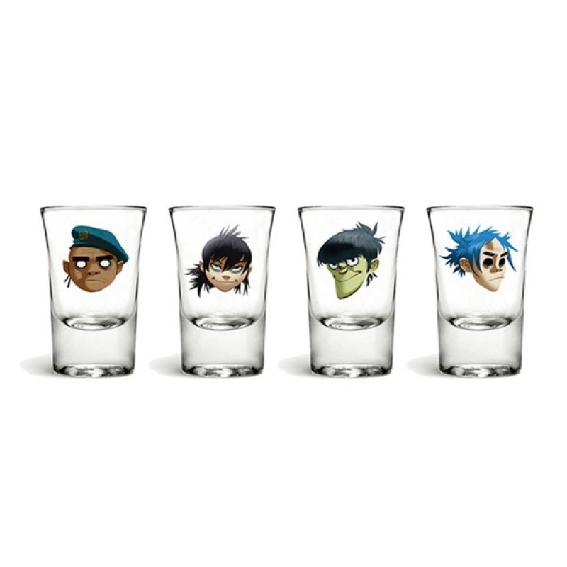 Character Face Shot Glass Set