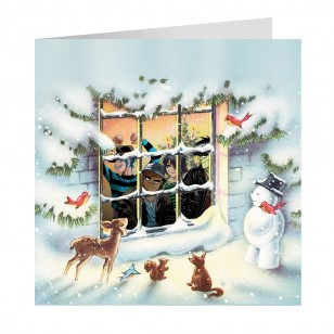 Snowy Cottage Christmas Cards 2018