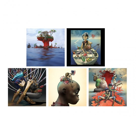 Plastic Beach Art Card Se