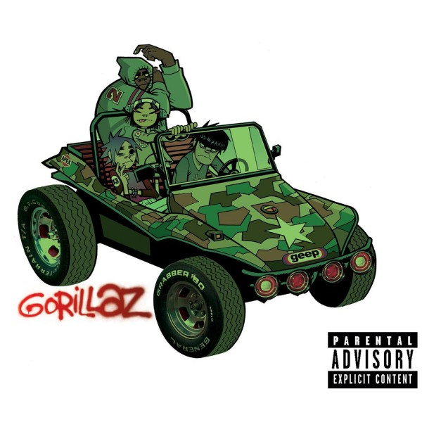 Gorillaz Double Vinyl Album