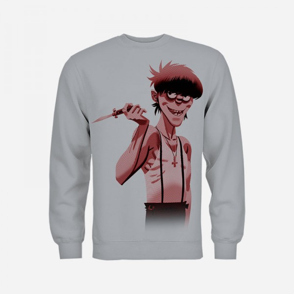 Murdoc Switch Grey Sweatshirt