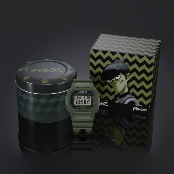 LIMITED EDITION MURDOC G-SHOCK DW5600 WATCH