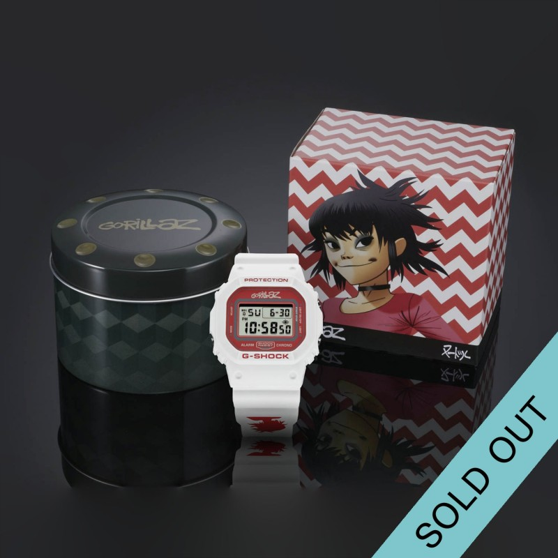 LIMITED EDITION NOODLE G-SHOCK DW5600 WATCH