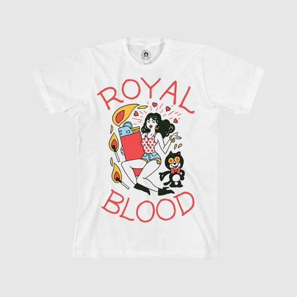 Royal Blood Band Lighter Tee Merch