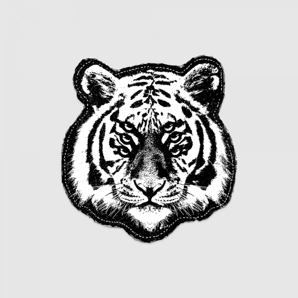 Six Eyed Tiger Patch - Royal Blood Store