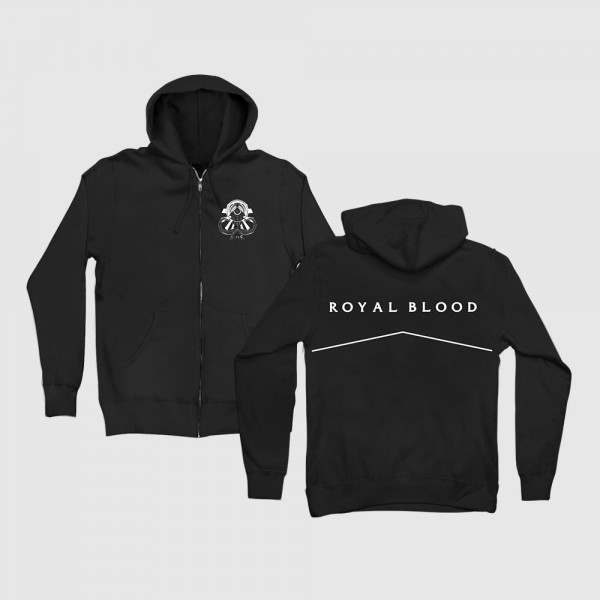Black Mammoth Records Hoodie - Royal Blood Store