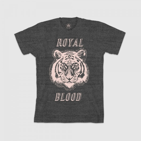 Royal Blood Stacked Tiger T-Shirt - Royal Blood Store