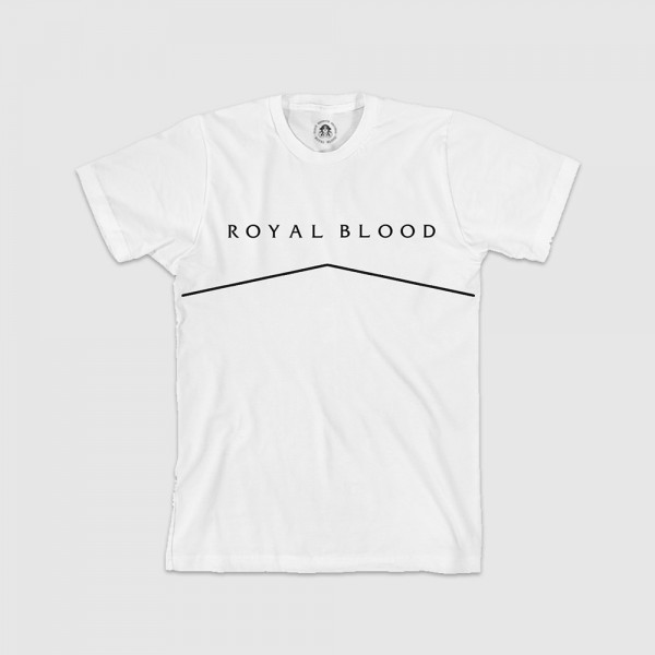 Royal Blood T-Shirt - White Lines Tee - Royal Blood Band Store