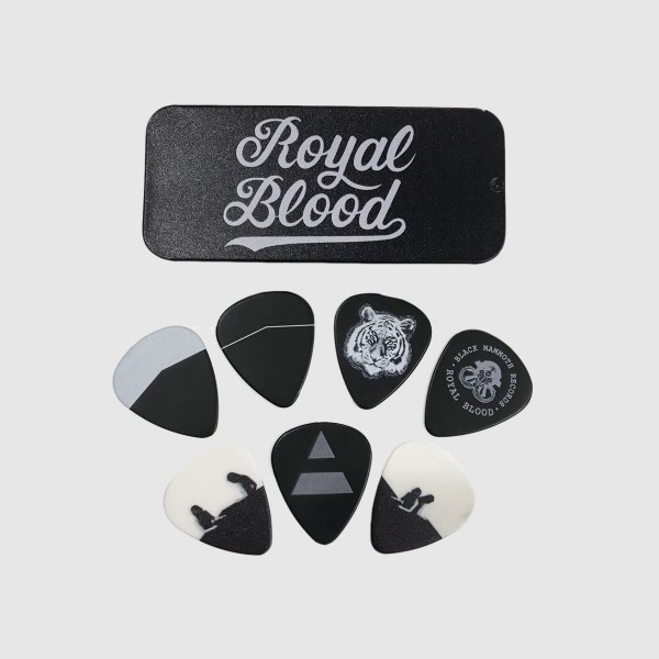 Royal Blood Guitar Plectrum Set - Royal Blood Plecs