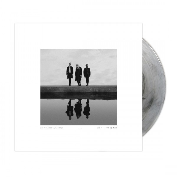 all we know of heaven, all we need of hell (smoke colored vinyl)