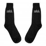 AWKOHAWNOH Socks (Black)