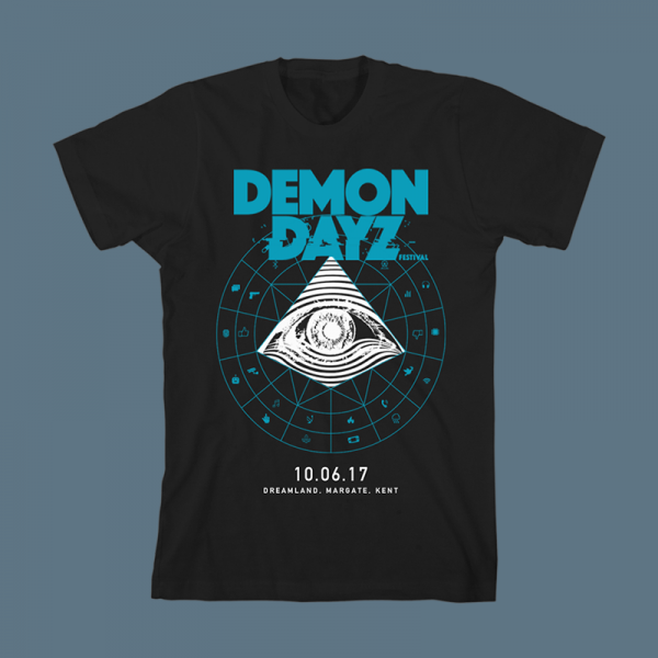 Demon Dayz Festival Black T-Shirt
