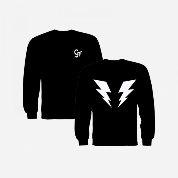 Lightning Bolt Black Sweatshirt