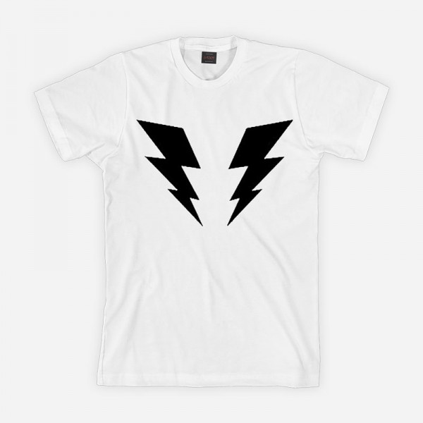 Lightning Bolt White T-Shirt