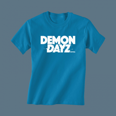 Demon Dayz Logo Kids Blue T-Shirt