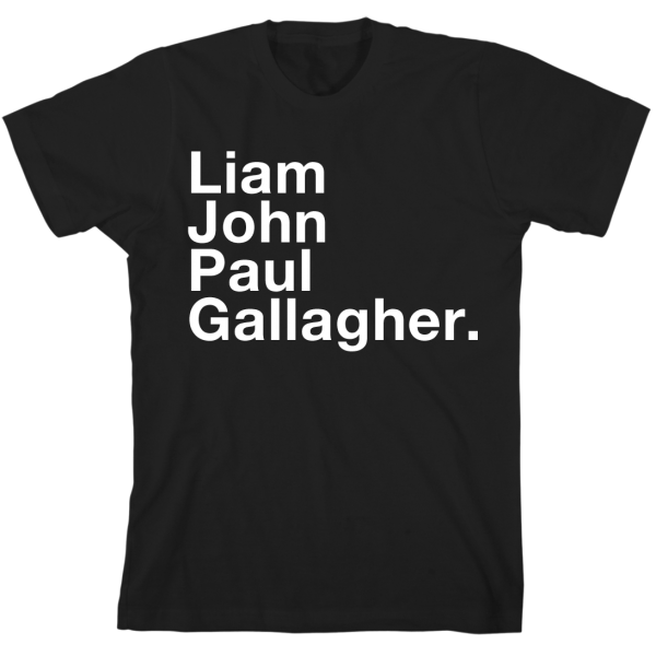 Liam, John, Paul, Gallagher T-Shirt