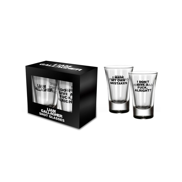 Mistake Shot Glasses