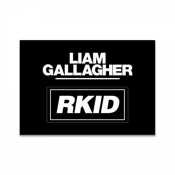 RKID Enamel Badge - Liam Gallagher Merchandise Store