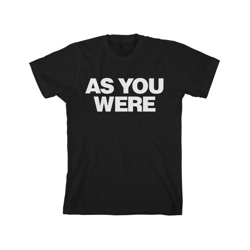 As You Were T-Shirt - Liam Gallagher Merchandise