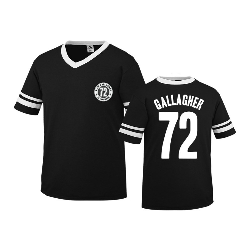 Gallagher Black Football Shirt