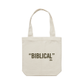 Biblical Tote Bag