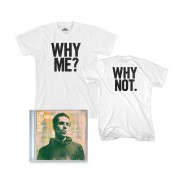 Why Me? Why Not. CD and T-Shirt Bundle