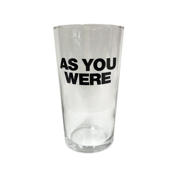 Liam Gallagher Merch - As You Were Pint Glass