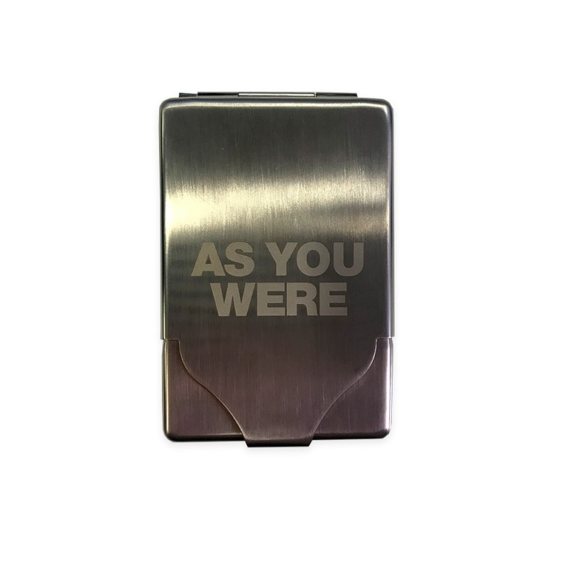 As You Were Engraved Cigarette Case