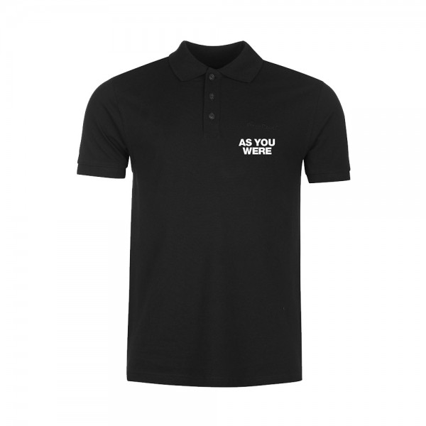 As You Were Embroidered Polo Shirt