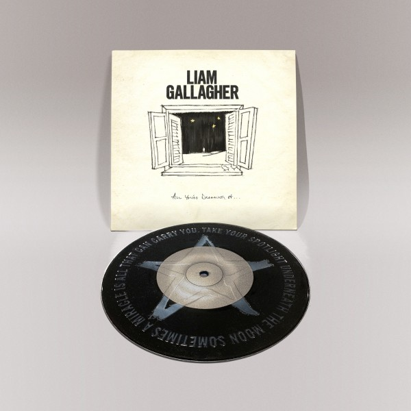 "Liam Gallagher - All You're Dreaming Of - Black 7"" Vinyl"