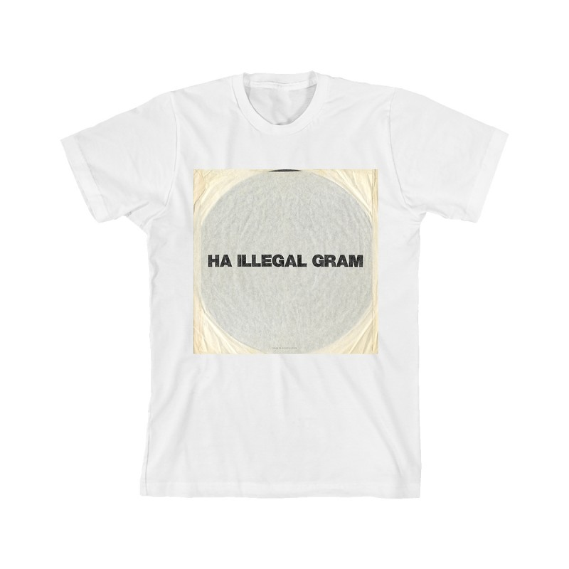 Ha Illegal Gram T-Shirt - Liam Gallagher Merch
