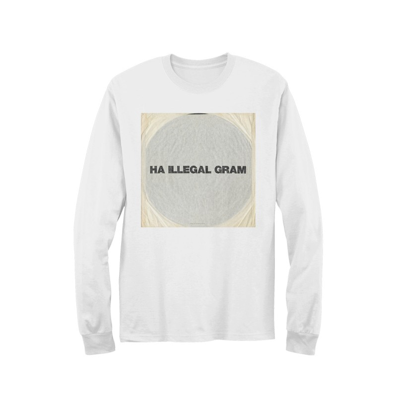 Ha Illegal Gram Long Sleeve - Liam Gallagher  Merchandise