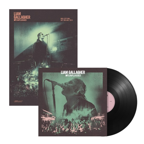 Liam Gallagher MTV Standard Vinyl + Poster (Bundle)Back  Reset  Delete  Duplicate  Save  Save and Continue Edit