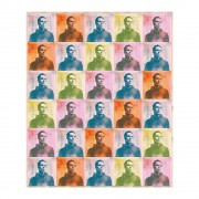 Repeat Portrait Wrapping Paper