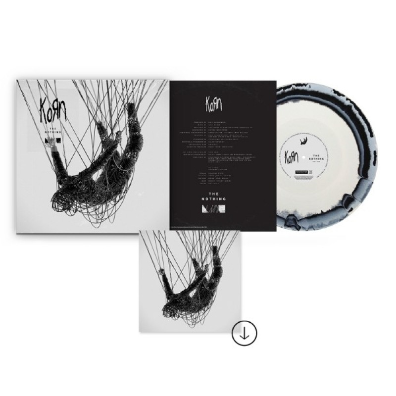 The Nothing: Exclusive BlackWhite Marble Swirl LP + Digital Bundle