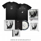 The Nothing: TShirt, Mirrorboard Poster + Music Bundle