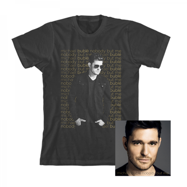 Michael Buble Nobody But Me T-shirt Bundle