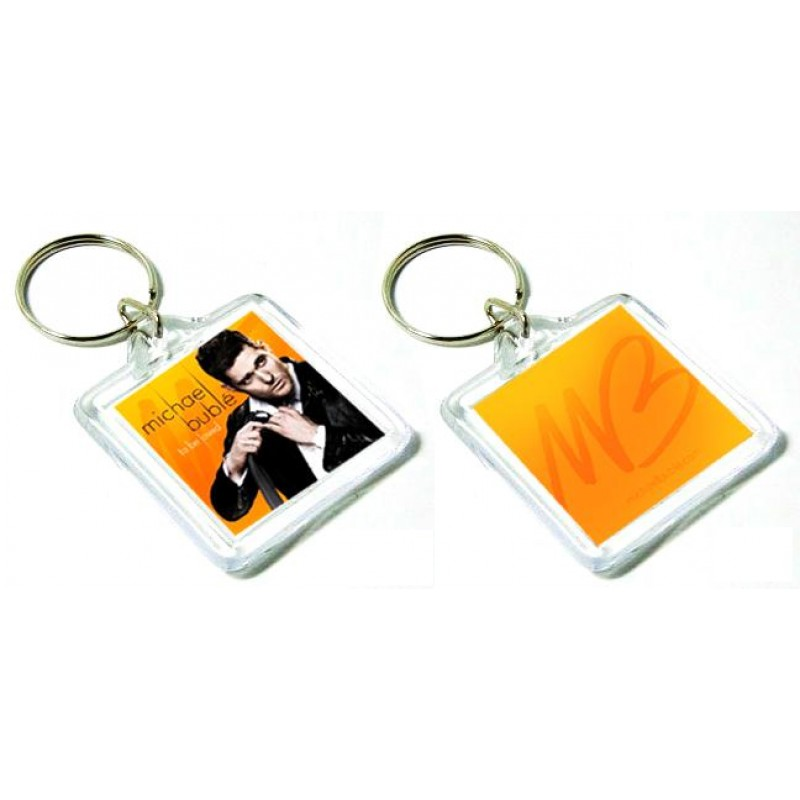 To Be Loved Keychain