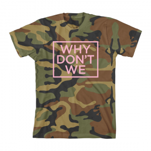 Why Don't We Camo T-Shirt (Pink)
