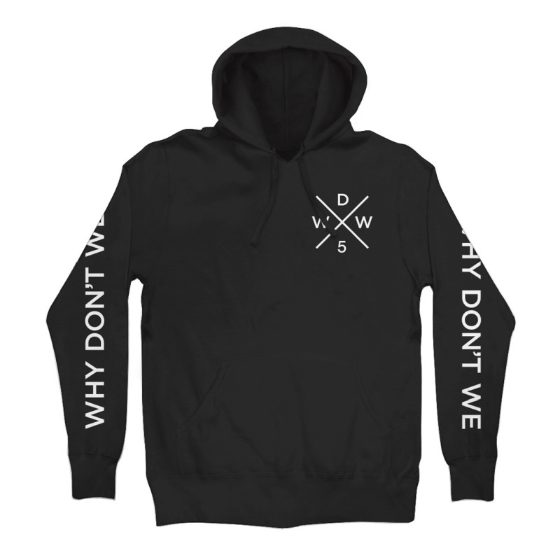 Why Don't We Cross Logo Pullover